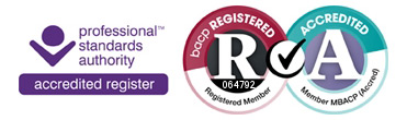 BACP Registered Member, Professional Standards Authority